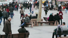 Turkish People in Istanbul (Editorial) Stock Footage