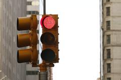 Traffic Light - Red Light Stock Photos