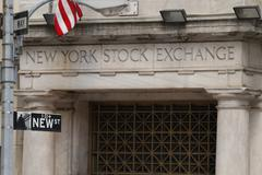 New York Stock Exchange - Wall Street - New York City - stock photo