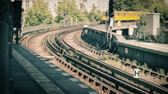 Stock Video Footage of Berlin U-Bahn Kreuzberg