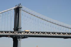 The Manhattan Bridge Stock Photos
