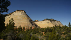 Zion LM01 Checkerboard Mesa Stock Footage