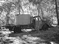 Old but reliable of farm vehicle Stock Photos