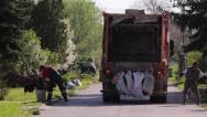 Stock Video Footage of Waste Collectors