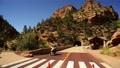 Zion LM04 Zion Mount Carmel Tunnel Traffic Control Footage