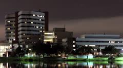 Florida Hospital TimeLapse Stock Footage