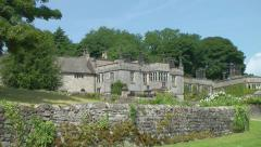 Old English Manor House Stock Footage