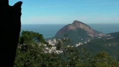 Up to Christ the Redeemer 54 Stock Footage