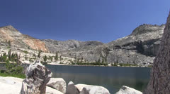 Twin Lakes ,Desolation Wilderness Stock Footage