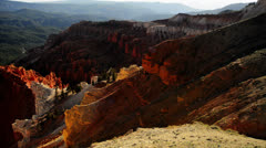 Cedar Breaks LM15 North View Stock Footage