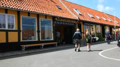 Brewery in Svaneke Stock Footage