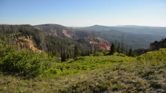 Cedar Breaks LM25 North View Stock Footage