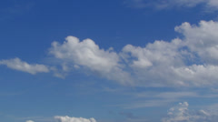 cloud with blue sky-speed 02 - stock footage