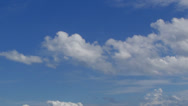 Cloud with blue sky-speed 02 Stock Footage