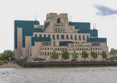 Stock Photo of british secret service buidling