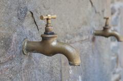 Golden tap Stock Photos