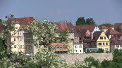 Germany - Bavaria - Rothenburg ob der Tauber Stock Footage
