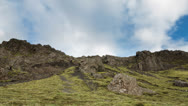 Top of Mountain Stock Footage