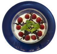 fruity dessert - stock photo