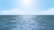 Stock Video Footage of Fly over ocean waves