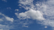 Stock Video Footage of cloud with blue sky-02