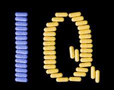 pills spelling iq - stock photo