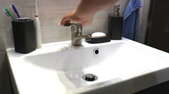 Wash your hands - stock footage