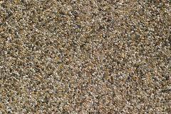 pebble stone wall texture - stock photo