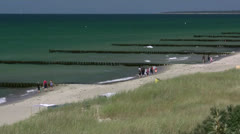 Beautiful Darss Peninsula - Baltic Sea, Northern Germany Stock Footage