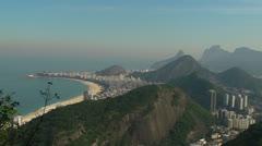 Copacabana Beach Stock Footage