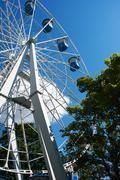 Stock Photo of ferris wheel attraction