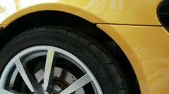 Car Detail 5 modern - stock footage
