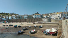Mousehole, Cornwall Stock Footage