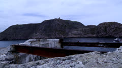Shot of Signal Hill from Fort Amherst Stock Footage