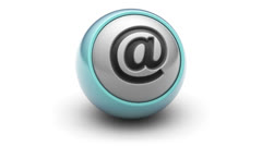 E-mail icon Stock Footage