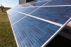 Solar panels Stock Photos