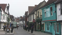 St Nicholas Street, Ipswich p209 Stock Footage