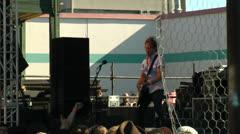 Rock, Punk, Rock Concert, Sub Pop Silver Jubilee Concerts, Seattle Stock Footage