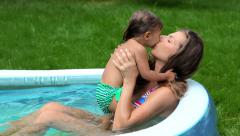 Motherly love Stock Footage