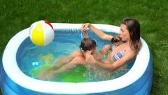 Healthy summer Stock Footage