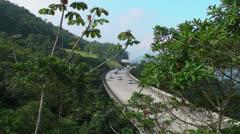 Brazilian Freeway Stock Footage