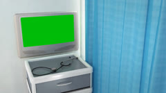 blank medical screen - stock footage