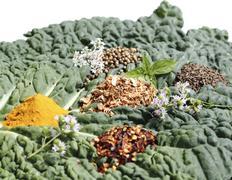 Spice mixture Stock Photos