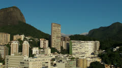 The Clouds Roll In over the Mountains of Rio de Janeiro Stock Footage