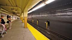 NYC Subway01 Stock Footage