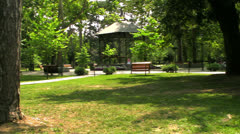 park - stock footage
