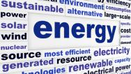 Stock Video Footage of Energy technological words concept