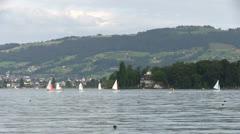 Switzerland - Bodensee lake Stock Footage