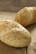 artisan bread - stock photo