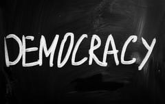 democracy - stock illustration